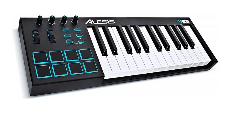 Alesis V25 25 Key USB MIDI Keyboard Controller Review