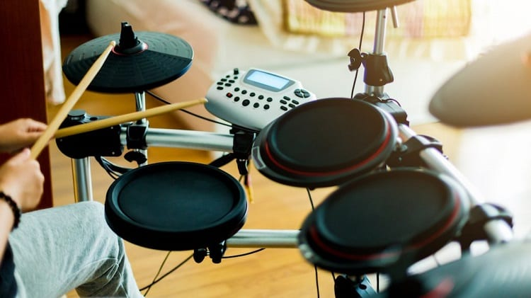 Playing Electronic Drums