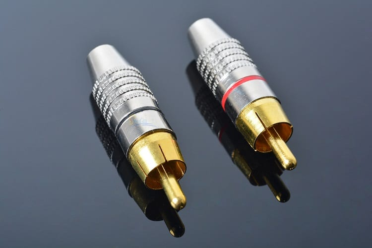 Two RCA Connectors