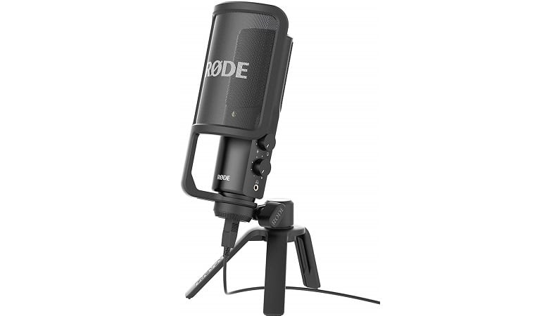RODE NT-USB USB CARDIOID CONDENSER MICROPHONE