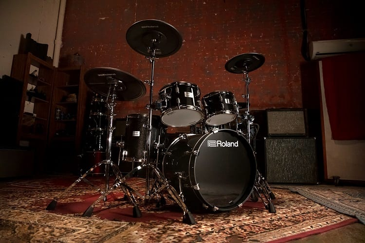 Set of Acoustic Drums