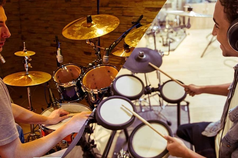 Electronic Drums Vs Acoustic Drums